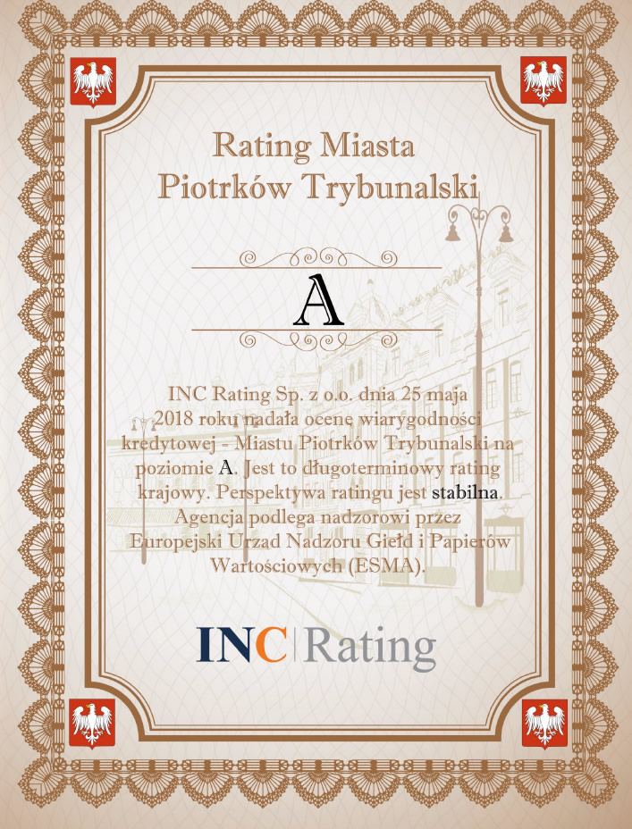 rating dyplom z literą a