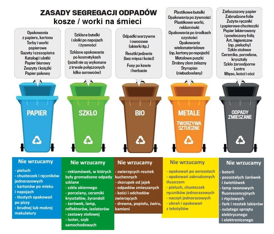 Piotrków Trybunalski - Oficjalny portal miejski | Jak prawidłowo segregować  śmieci