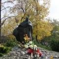 Park im. Jana Pawła II pomnik