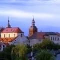 Klasztor OO. Jezuitów panorama z oddali