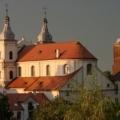 Klasztor OO. Jezuitów zachód słońca