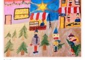 8 Nina Staniaszek 8 lat Jarmark Bożonarodzeniowy I nagroda