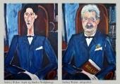 Andrzej Wojtas Amadeo Modigliani Portret Jean Cocteau online
