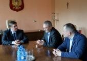 Konsul Marek Zapór, z Konsulatu w Łucku  gościł  w Piotrkowie Trybunalskim