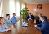 Konsul Marek Zapór, z Konsulatu w Łucku  gościł dziś (9.03) w Piotrkowie Trybunalskim