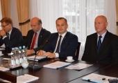 Wyjazdowe posiedzenie Zarządu Województwa w Piotrkowie Trybunalskim.