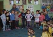 Akcja Cała Polska czyta dzieciom w Przedszkolu Samorządowym nr 26.