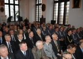 Panel historyczny z okazji odsłonięcia nagrobka nadinspektora Wardęskiego.