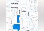 """Miejsca wyznaczone do handlu - teren przed blokiem Spółdzielni """"Karusia"""" oraz teren przy Centrum Kształcenia Praktycznego, w okolicy ul. Piastowskiej."""