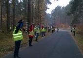 Jesienny rajd nordic walking.