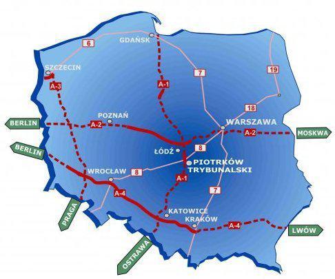 localization Piotrków